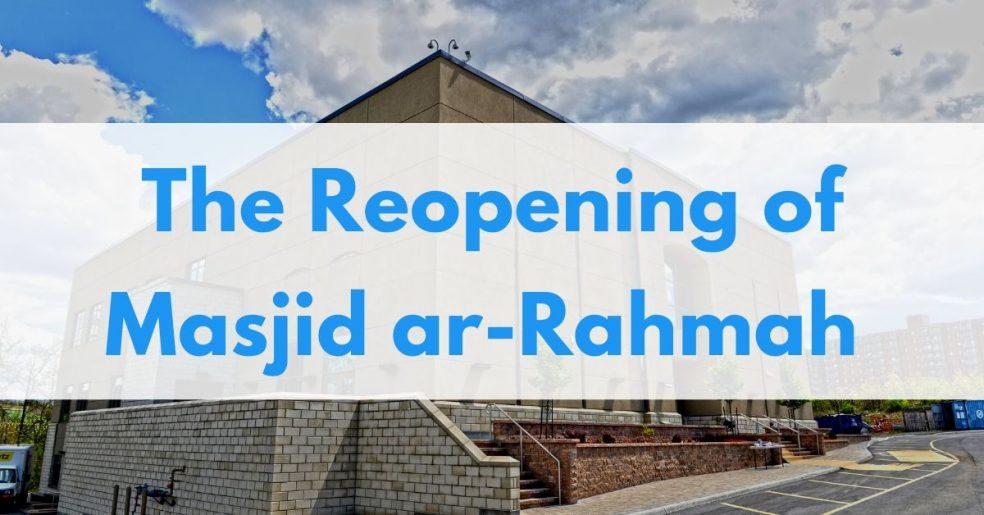 masjid reopening