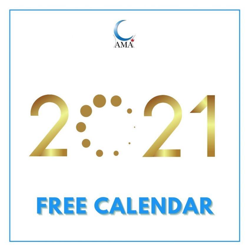 2021 calendar free